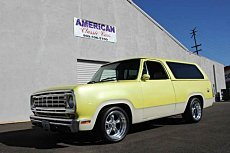 1977 Dodge Ramcharger for sale 100724509
