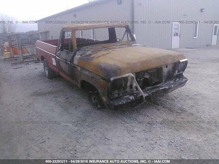 1977 Ford F150 for sale 101016139