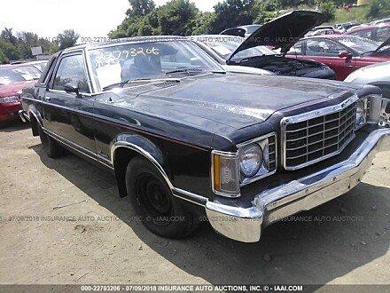 1977 Ford Granada for sale 101016111