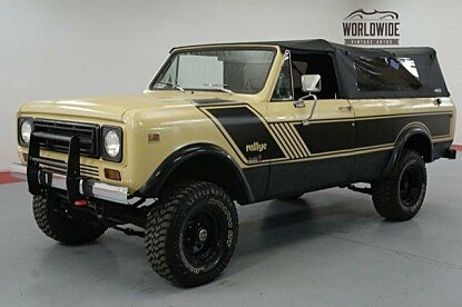 1977 International Harvester Scout for sale 101033768