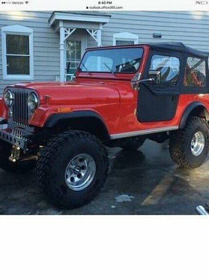 1977 Jeep CJ-7 for sale 100810162
