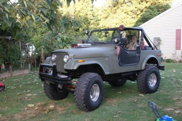 1977 Jeep CJ 7 classic trucks Car 100837585 143a0b97107fd19f18fedf7f32e2c0ce?r=fit&w=430&s=1 jeep cj 7 classics for sale classics on autotrader 1977 jeep cj7 wiring harness at mifinder.co