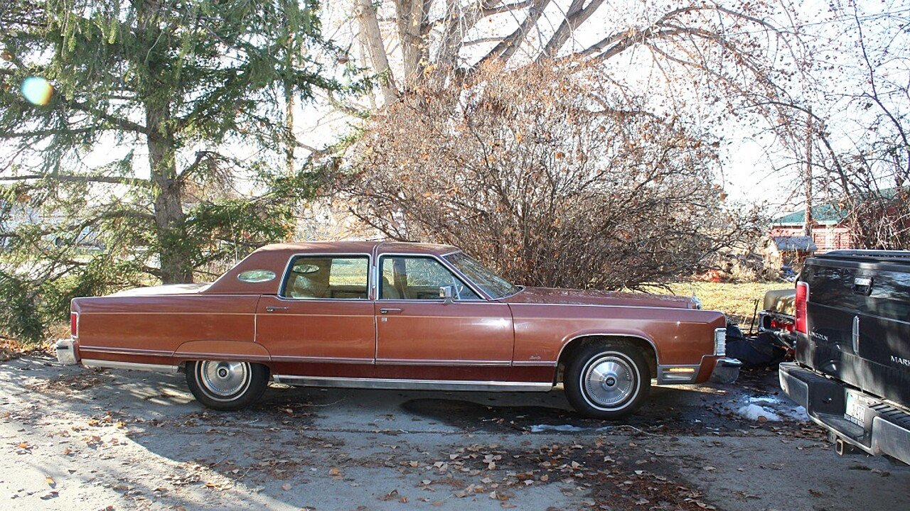 1977 Lincoln Continental Signature for sale near Shepherd, Montana ...