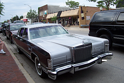 1977 Lincoln Continental for sale 100952129