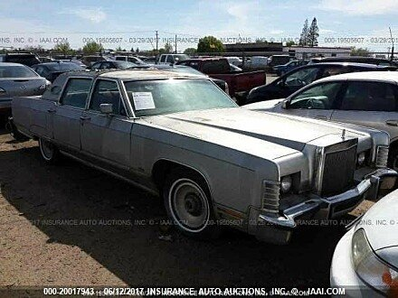 1977 Lincoln Continental for sale 101016187
