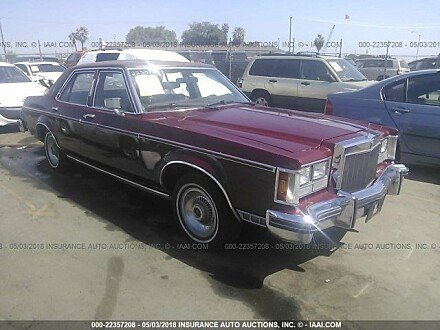 1977 Lincoln Versailles for sale 101016181