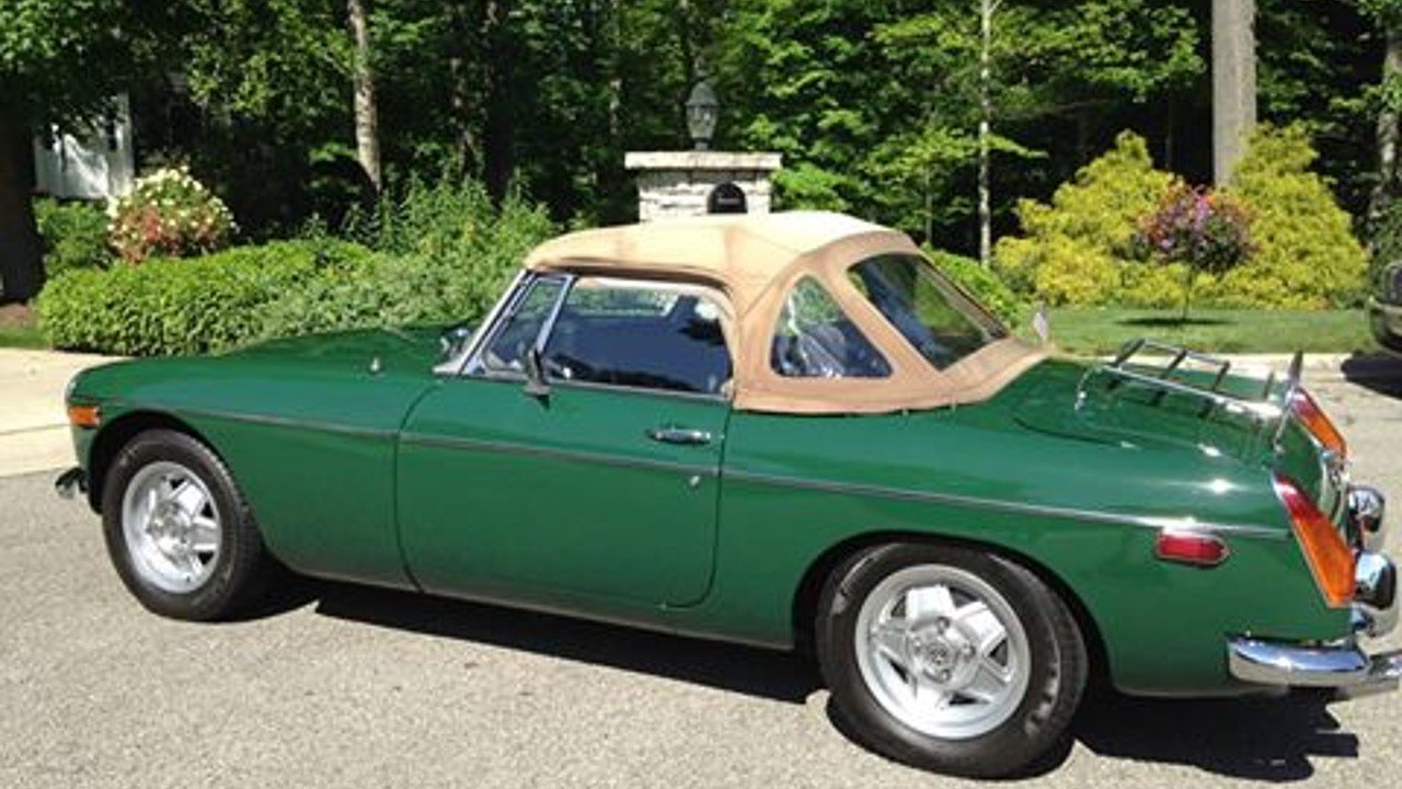 1977 MG MGB for sale 100877974