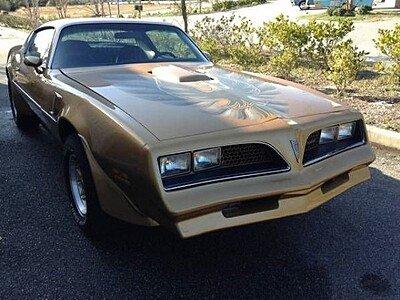 1977 pontiac Firebird for sale 100829284