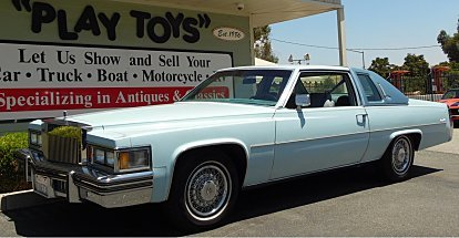 1978 Cadillac De Ville for sale 100893729