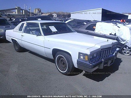 1978 Cadillac De Ville for sale 101015026