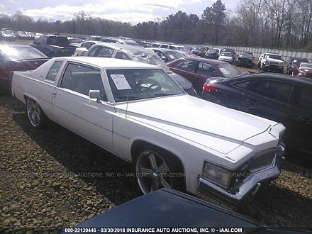 1978 Cadillac De Ville for sale 101015029