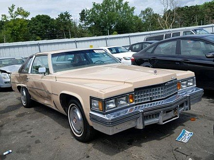 1978 Cadillac De Ville for sale 101020185
