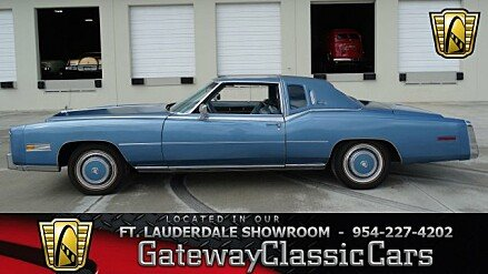 1978 Cadillac Eldorado for sale 100919892
