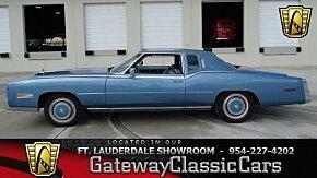 1978 Cadillac Eldorado for sale 100964000
