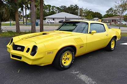1978 Chevrolet Camaro for sale 100912879