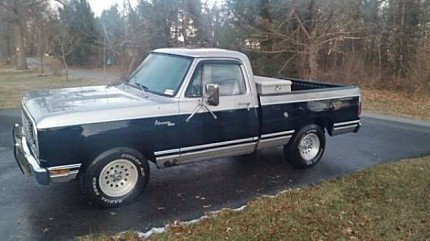 1978 Dodge D/W Truck for sale 100974882