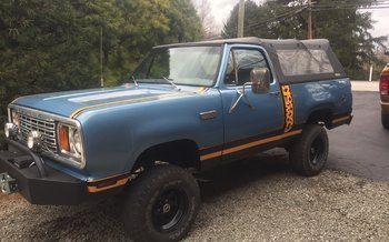 1978 Dodge Ramcharger for sale 100848493