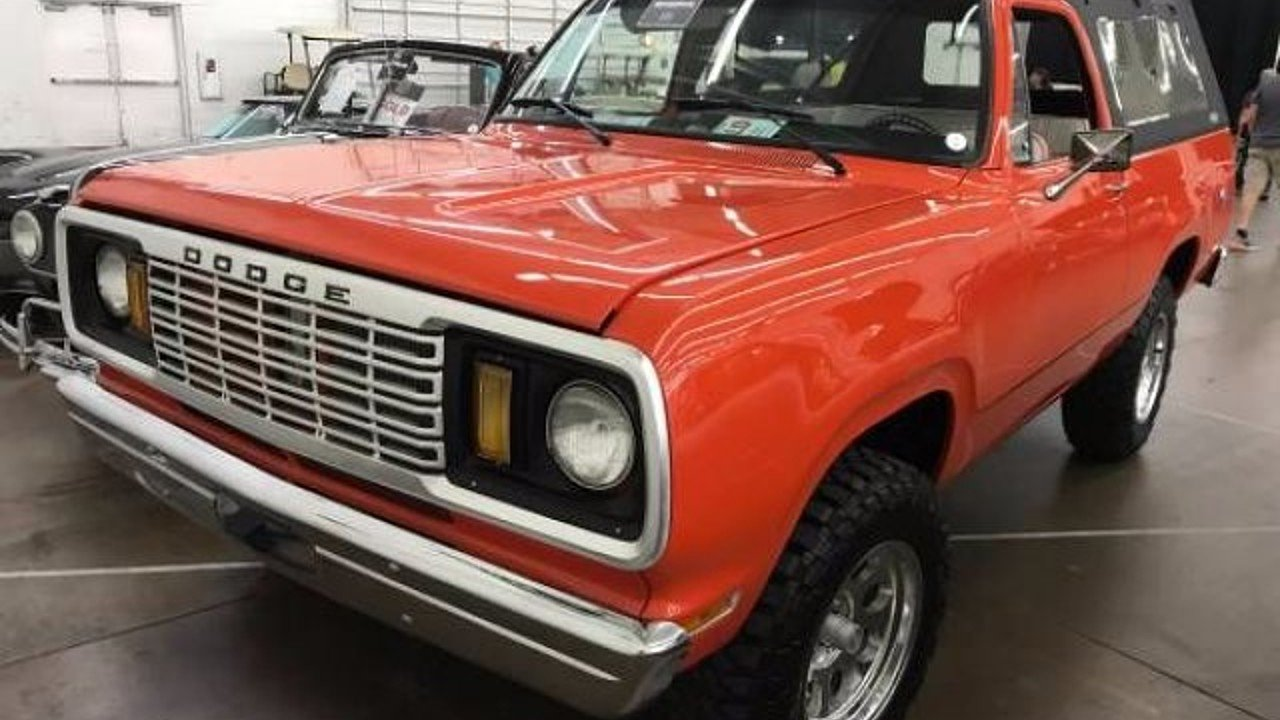 1978 Dodge Ramcharger for sale 100929434