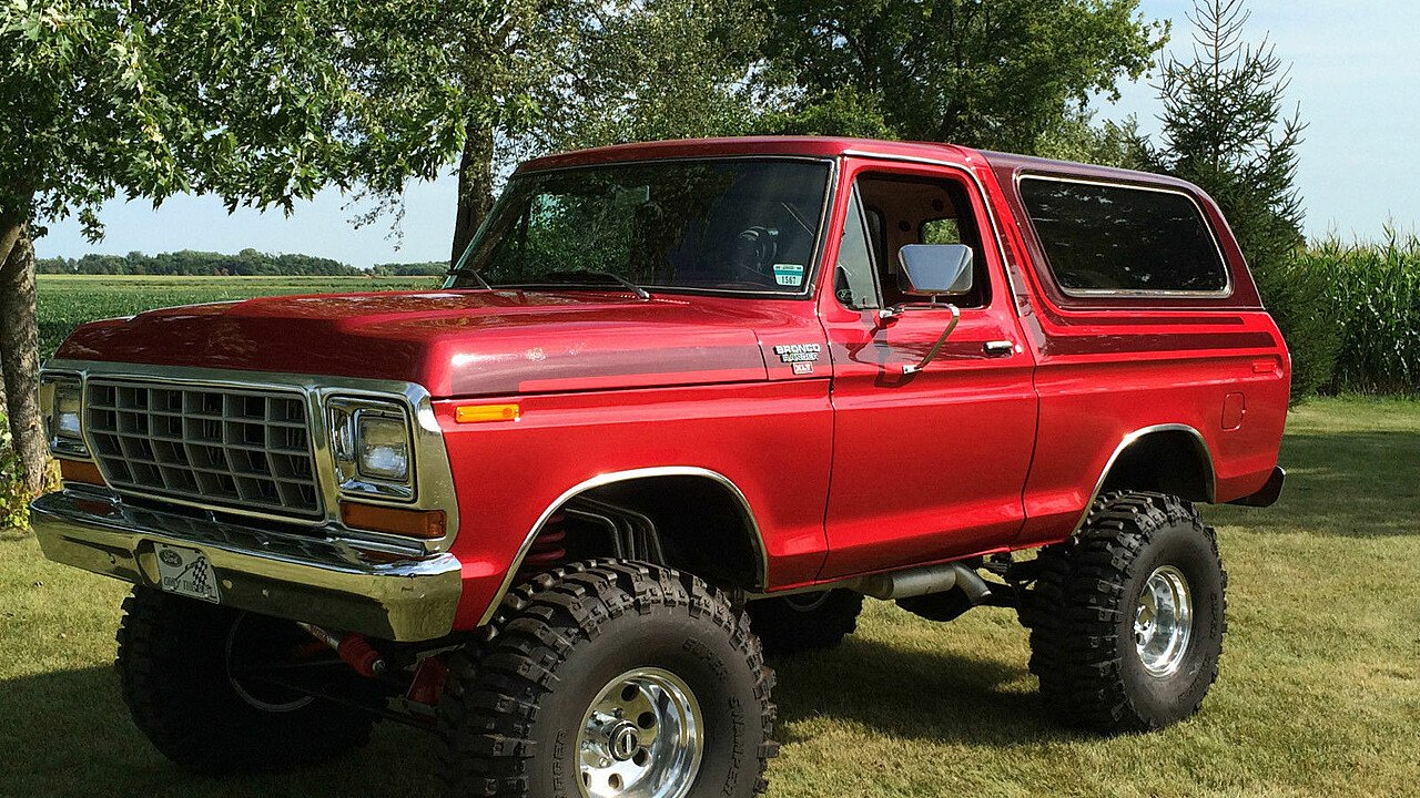 1978 Ford Bronco For Sale Near Simi Valley, California