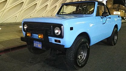 1978 International Harvester Scout for sale 100989115