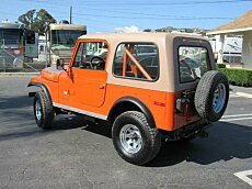 1978 Jeep CJ-7 for sale 100879668