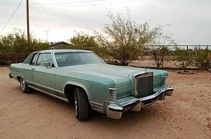 1978 Lincoln Continental for sale 100968526