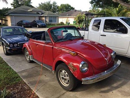 1978 Volkswagen Beetle Convertible for sale 100892521