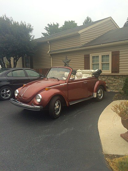 1978 Volkswagen Beetle Convertible for sale 100943931
