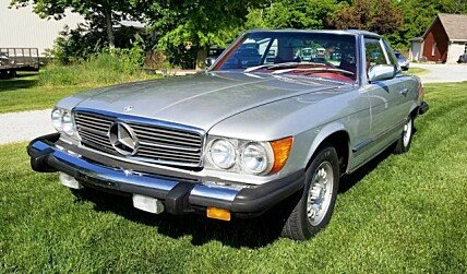 1978 mercedes-benz 450SL for sale 101006303