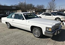 1979 Cadillac De Ville for sale 100957937