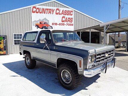 1979 Chevrolet Blazer for sale 101008738