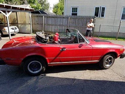 1979 FIAT Spider for sale 100827542