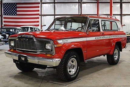 1979 Jeep Cherokee for sale 100962752