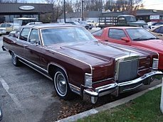 1979 Lincoln Continental for sale 100851406