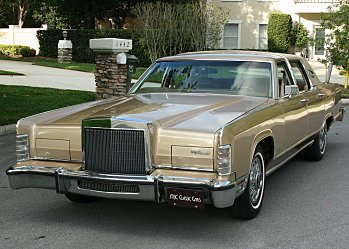 1979 Lincoln Other Lincoln Models for sale 100860010