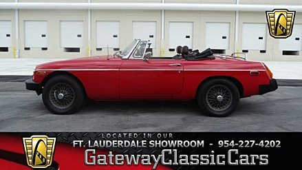1979 MG MGB for sale 100988985
