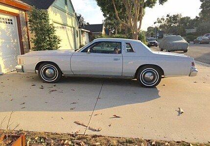 1979 chrysler Cordoba for sale 101022275