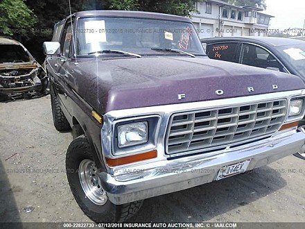 1979 ford Bronco for sale 101016148