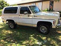 1980 Chevrolet Blazer 4WD 2-Door for sale 101006727