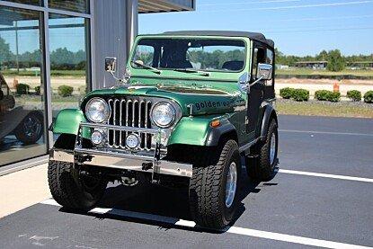 1980 Jeep CJ-5 for sale 100876320