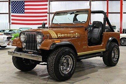 1980 Jeep CJ-7 for sale 100798787