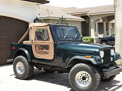 1980 Jeep CJ-7 for sale 100990587
