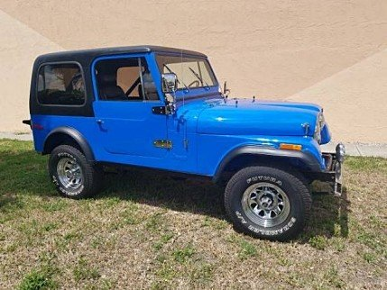1980 Jeep CJ-7 for sale 100998021