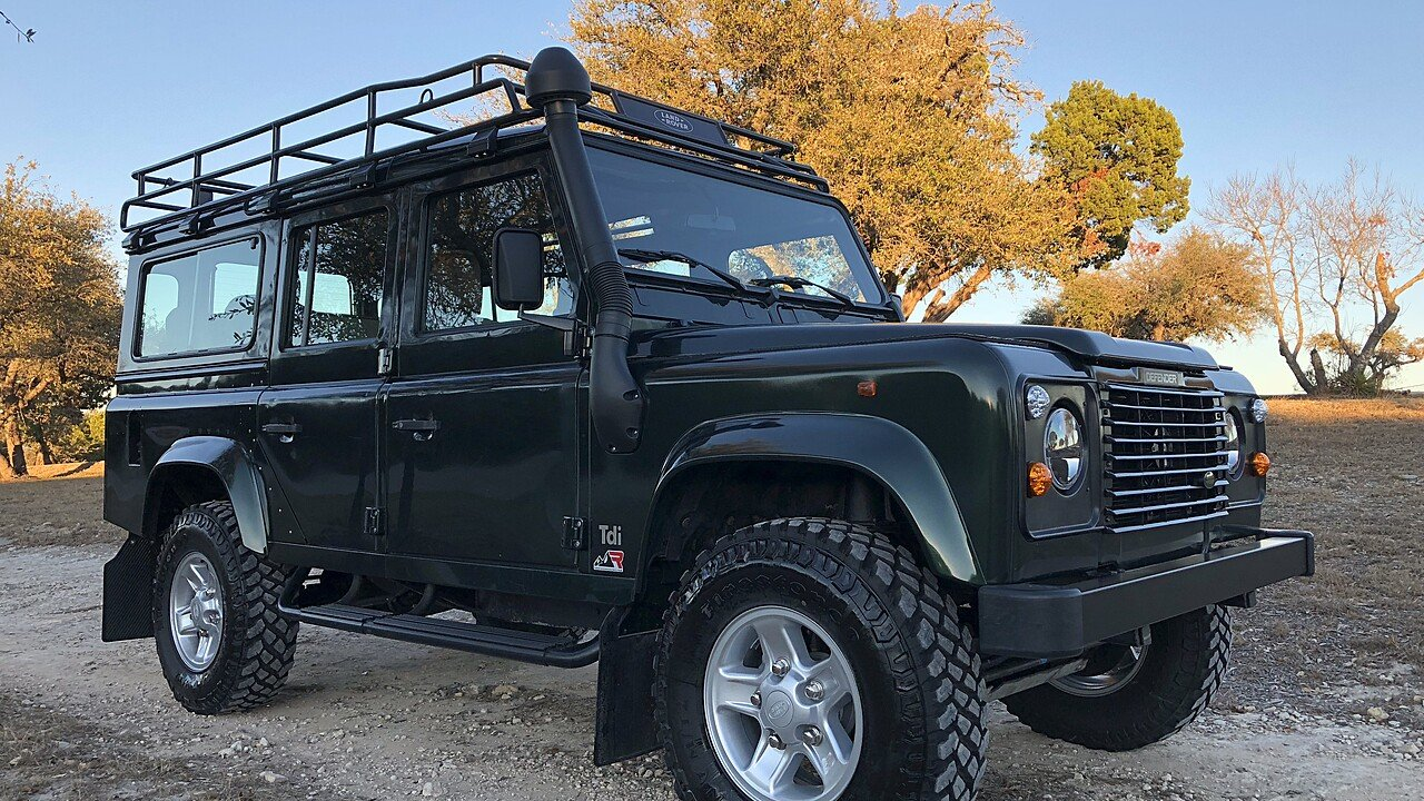 rover defender land double sale cab php