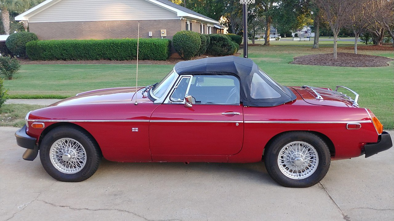 1980 MG MGB for sale 101033742