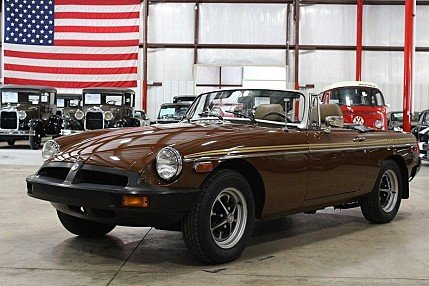 1980 MG MGB for sale 100887907