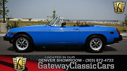 1980 MG MGB for sale 100906976