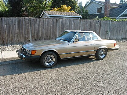 1980 Mercedes-Benz 450SL for sale 101022778