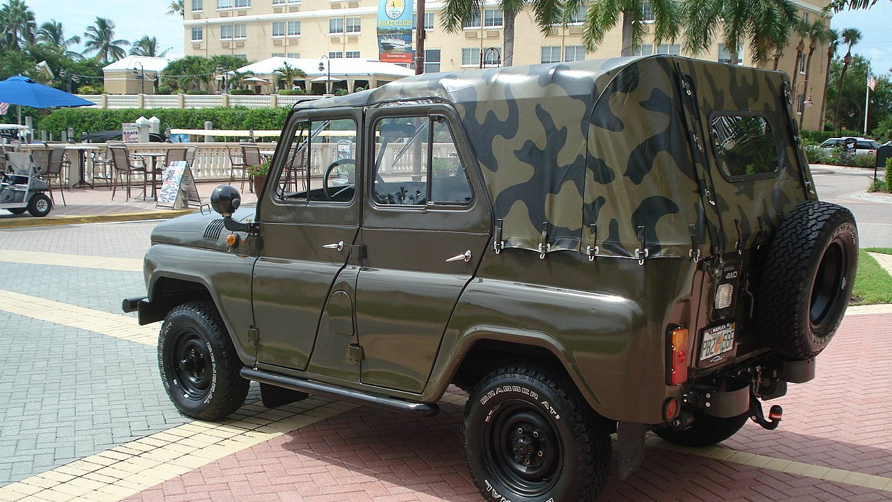 1980 uaz model 469 for sale near naples florida 34108 classics on autotrader. Black Bedroom Furniture Sets. Home Design Ideas