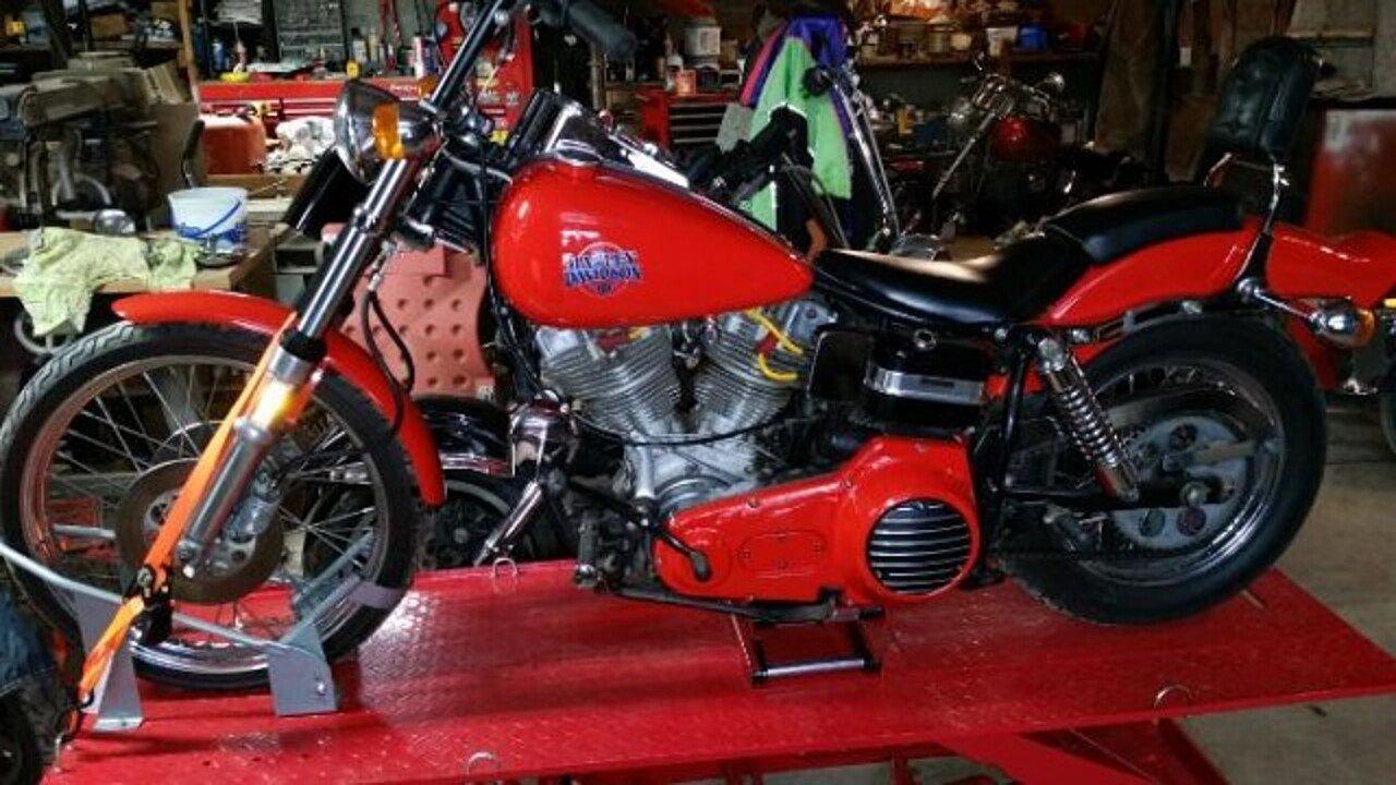 1980 harley-davidson FXWG for sale 200455373